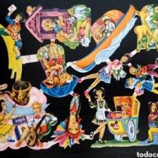 Coleccionismo Cromos troquelados antiguos: CROMOS TROQUELADOS FHER FB 143 RELIEVE ESCASA LÁMINA ORIGINAL ANTIGUA PICAR AÑOS 50/60 NUEVA F. B.. Lote 294499443