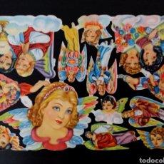 Coleccionismo Cromos troquelados antiguos: CROMOS TROQUELADOS FHER FB 155 RELIEVE ESCASA LÁMINA ORIGINAL ANTIGUA PICAR AÑOS 50/60 NUEVA F. B.. Lote 295607693