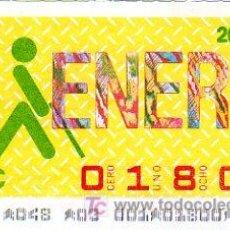 Cupones ONCE: CUPON 1 DE ENERO 1986 ESTRAORDINARIO DE 5 CIFRAS.. Lote 4154780