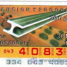 Cupones ONCE: CUPON 30 DE NOVIEMBRE 1990 NUNCA SALIO ALA VENTA. Lote 27550801