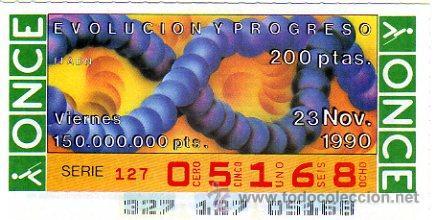 CUPON 23 DE NOVIEMBRE 1990 NUNCA SALIO ALA VENTA (Coleccionismo - Lotería - Cupones ONCE)