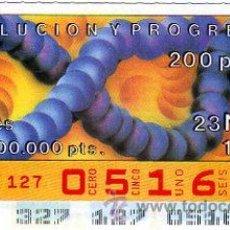 Cupones ONCE: CUPON 23 DE NOVIEMBRE 1990 NUNCA SALIO ALA VENTA. Lote 11341180