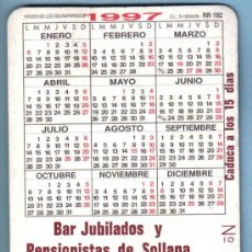 ONCE Coupons - RIFA BAR JUBILADOS SOLLANA. SORTEO ONCE 23-12-1996 - 11881406