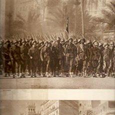 Cupones ONCE - HOJAS REPORTAJE AÑO 1939 DESFILE VICTORIA BARCELONA. FRANCO EJERCITO PUERTO - 13571665