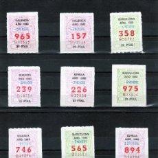 Cupones ONCE: 24 CUPONES ONCE DE NOVIEMBRE DE 1983 UNO DE CADA DIA (EXCEPTO DIA11) (C25). Lote 26432226