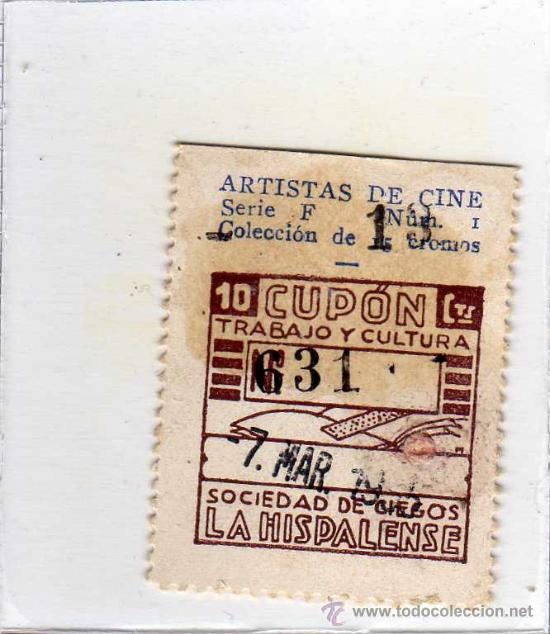 CUPON DE LA SOCIEDAD DE CIEGOS LA HISPALENSE, 7 DE MARZO 1935 (Coleccionismo - Lotería - Cupones ONCE)