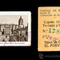 Cupones ONCE: CRE1 CUPON SDAD. DE CIEGOS EL PORVENIR AÑO 1935 SALAMANCA. Lote 36517848