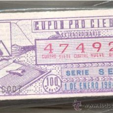 Cupones ONCE: CCC1 COLECCIÓN DE CUPONES DE LA ONCE 275 DISTINTOS. Lote 36959146