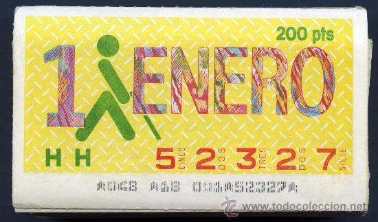 CCC1 COLECCIÓN DE CUPONES DE LA ONCE 230 DISTINTOS DEL AÑO 1986 (Coleccionismo - Lotería - Cupones ONCE)