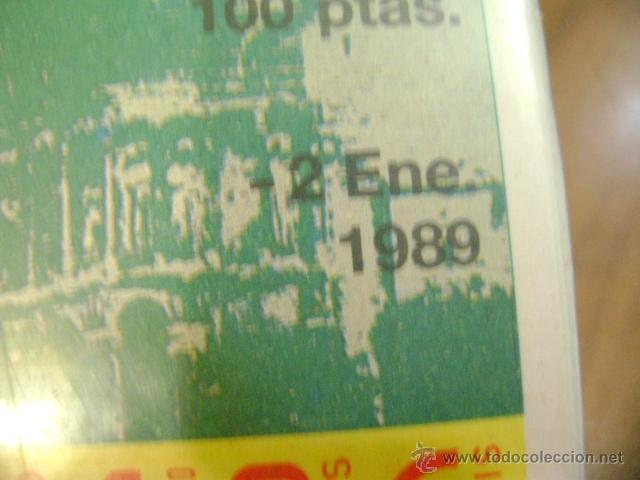 Cupones ONCE: Lote cupones ONCE año 1989 completo - Foto 2 - 39623023