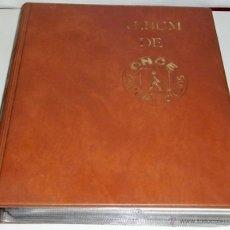 Cupones ONCE: ALBUM DE LA ONCE CON 925 CUPONES DIARIOS Y DEL VIERNES Y 9 ABONOS SEMANALES. DESDE 1989 A 1992. Lote 45503752