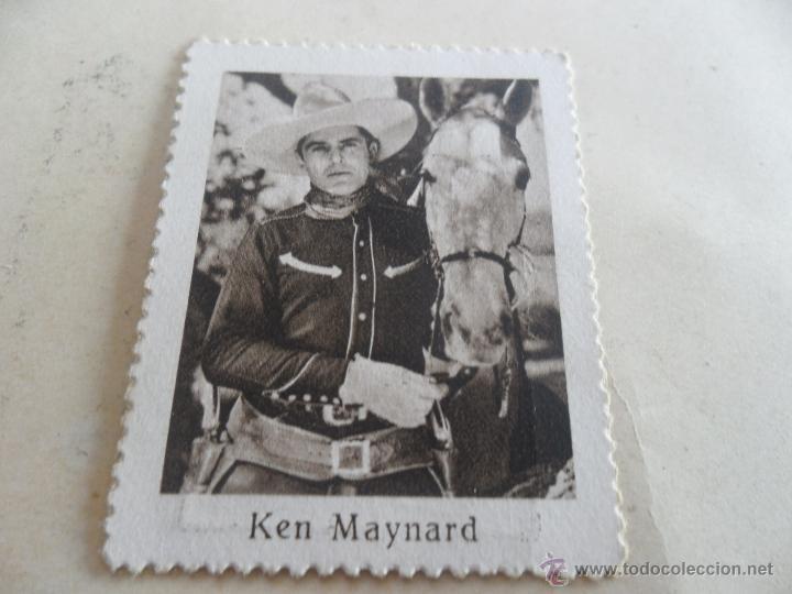 Cupones ONCE: ANTIGUO CUPON ANTERIORES ONCE 1935 FEDERACION HISPANICA DE CIEGOS ARTISTAS DE CINE KEN MAYNARD - Foto 2 - 49093026