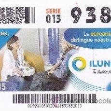 Coupon ONCE: Nº 93852 (20/ENERO/2015). Lote 49863465