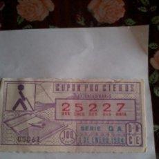 Cupones ONCE: CUPON PRO CIEGOS. EXTRAORDINARIO. 1 DE ENERO 1984 Nº 25227. Lote 50627549