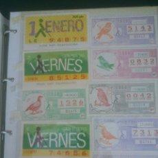 Cupones ONCE: CUPON DE LA ONCE AÑOS;86-87 EXCELENTE ESTADO. Lote 51124088