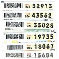 Cupones ONCE: OFERTA-B,1,000 CUPONES DE LA ONCE, ESPECIAL, PARA HACER LA NUMÉRICA. Lote 51581502