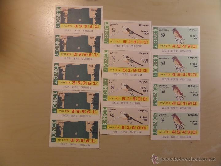 Cupones ONCE: Lotazo de numeros de la ONCE en bloques de 4,5,10 etc. Estan todos los que hay en las fotografias - Foto 3 - 53323785