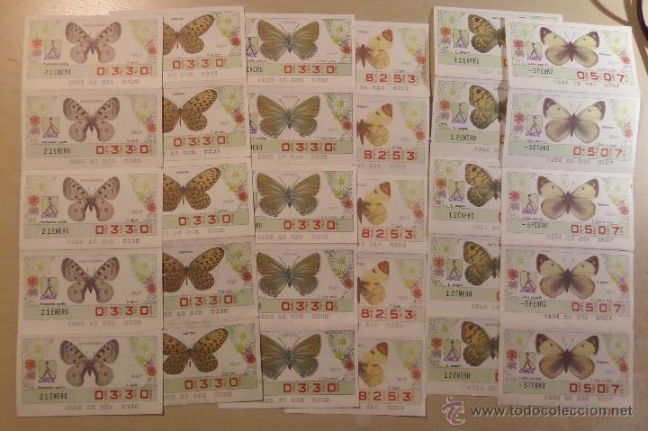 Cupones ONCE: Lotazo de numeros de la ONCE en bloques de 4,5,10 etc. Estan todos los que hay en las fotografias - Foto 4 - 53323785