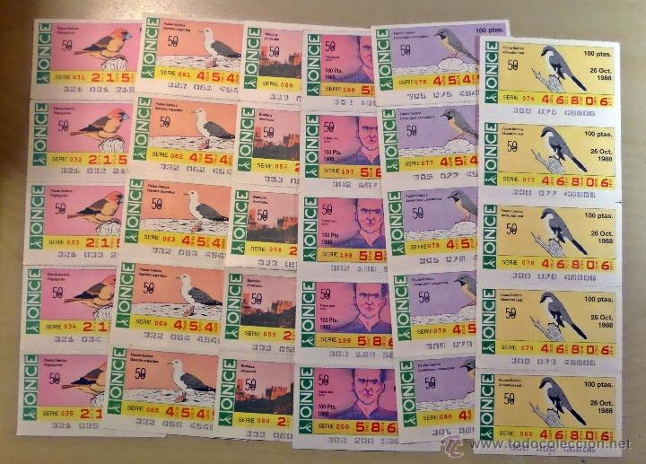 Cupones ONCE: Lotazo de numeros de la ONCE en bloques de 4,5,10 etc. Estan todos los que hay en las fotografias - Foto 6 - 53323785