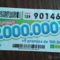 Cupones ONCE - cupón once 04-07-14 cuponazo - 53442668