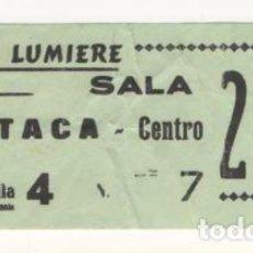 Cupones ONCE: (ALB-TC-7) ENTRADA CINE CINEMES LUMIERE LERIDA. Lote 80161333