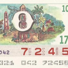 Cupones ONCE: CUPON ONCE - 72456 - SORTEO 17 NOVIEMBRE 1987 - O. Lote 83509060