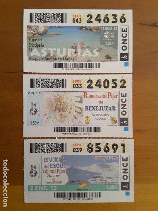 CUPONES AÑO 2013 (Coleccionismo - Lotería - Cupones ONCE)