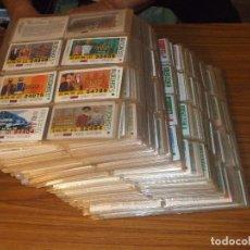 Cupones ONCE: .OFERTA CUPONES ONCE EN 98 HOJAS DE 16 HUECOS + 580 DIFERENTES CLASIFICADOS, CON DIVERSAS CANTIDAD +. Lote 90831335