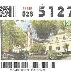 Cupones ONCE: CUPON ONCE - 17 NOVIEMBRE 2014 - REALES SITIOS - REAL BASILICA DE ATOCHA - MADRID. Lote 101432191