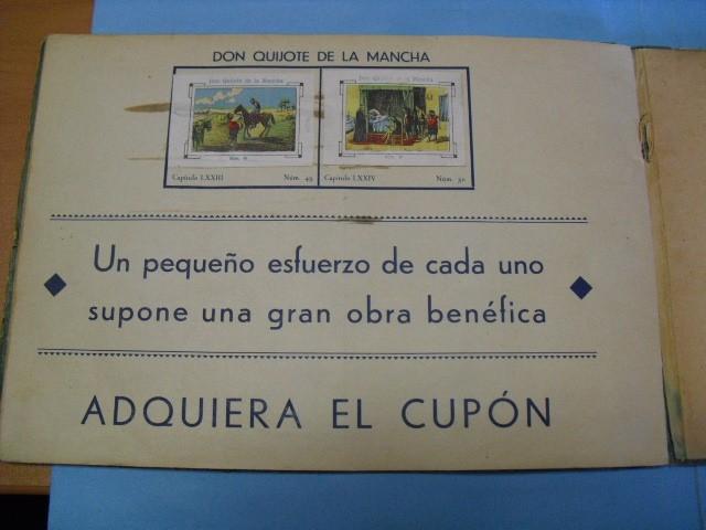 Cupones ONCE: album de cupones la hispalense 1934, por delantes son cromos y por detrás cupones, - Foto 4 - 103275655