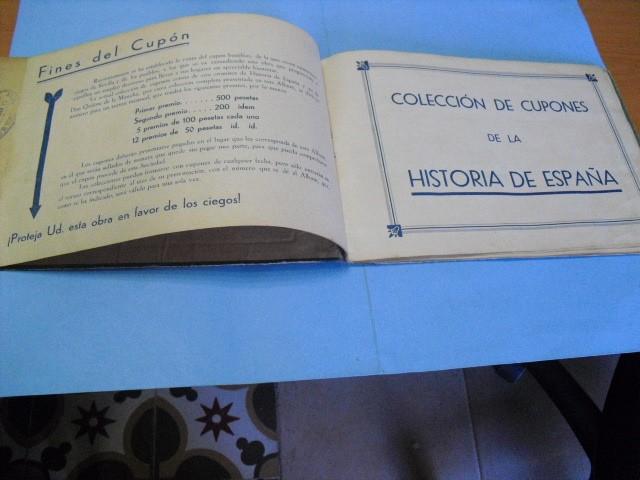 Cupones ONCE: album de cupones la hispalense 1934, por delantes son cromos y por detrás cupones, - Foto 7 - 103275655