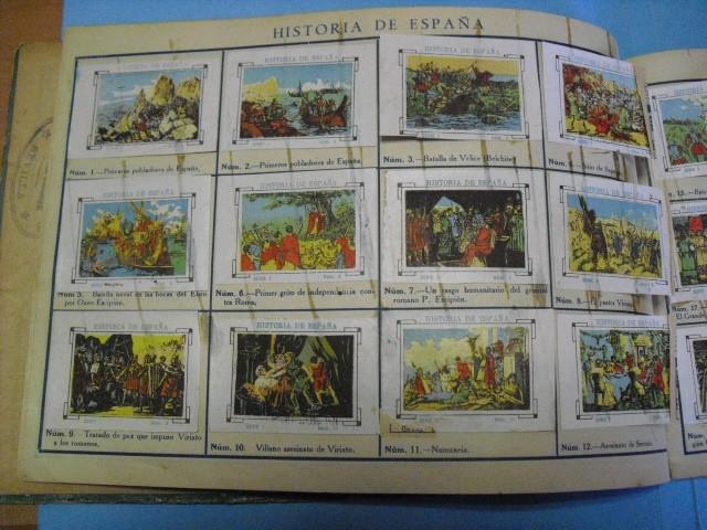 Cupones ONCE: album de cupones la hispalense 1934, por delantes son cromos y por detrás cupones, - Foto 8 - 103275655