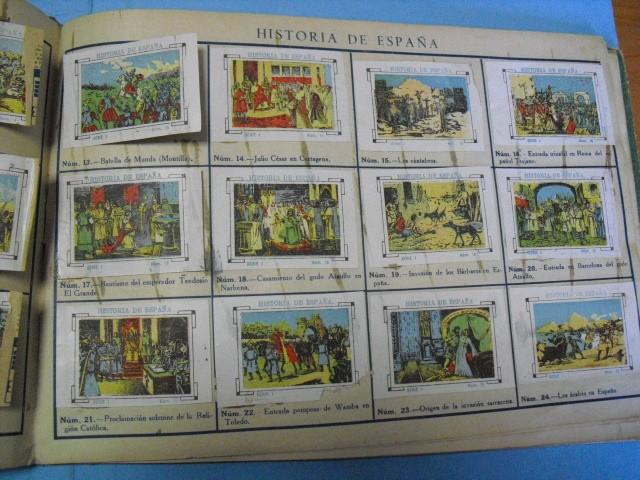 Cupones ONCE: album de cupones la hispalense 1934, por delantes son cromos y por detrás cupones, - Foto 9 - 103275655