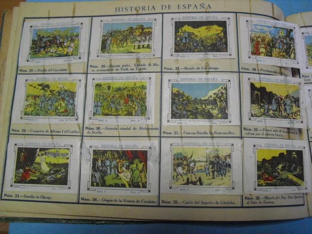 Cupones ONCE: album de cupones la hispalense 1934, por delantes son cromos y por detrás cupones, - Foto 10 - 103275655