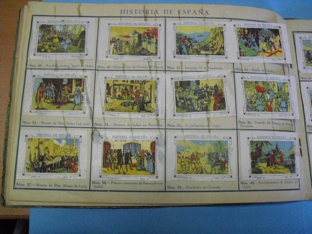 Cupones ONCE: album de cupones la hispalense 1934, por delantes son cromos y por detrás cupones, - Foto 12 - 103275655