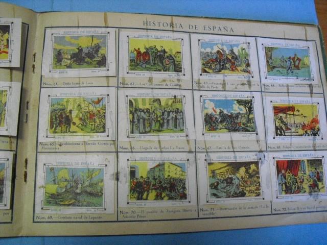 Cupones ONCE: album de cupones la hispalense 1934, por delantes son cromos y por detrás cupones, - Foto 13 - 103275655