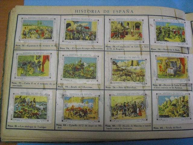 Cupones ONCE: album de cupones la hispalense 1934, por delantes son cromos y por detrás cupones, - Foto 14 - 103275655