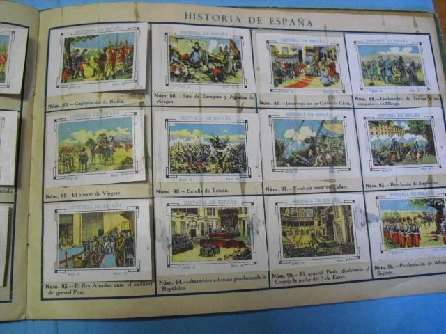 Cupones ONCE: album de cupones la hispalense 1934, por delantes son cromos y por detrás cupones, - Foto 15 - 103275655