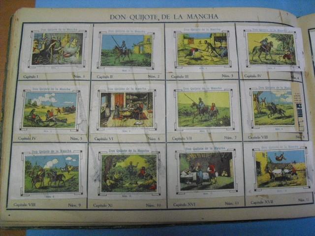 Cupones ONCE: album de cupones la hispalense 1934, por delantes son cromos y por detrás cupones, - Foto 16 - 103275655