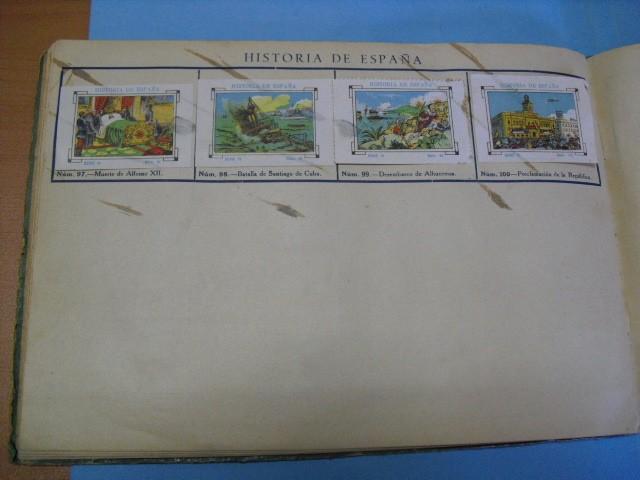 Cupones ONCE: album de cupones la hispalense 1934, por delantes son cromos y por detrás cupones, - Foto 18 - 103275655