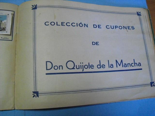 Cupones ONCE: album de cupones la hispalense 1934, por delantes son cromos y por detrás cupones, - Foto 19 - 103275655