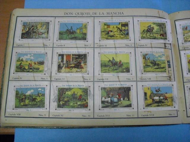 Cupones ONCE: album de cupones la hispalense 1934, por delantes son cromos y por detrás cupones, - Foto 20 - 103275655