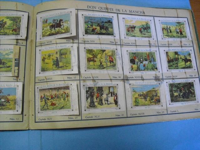 Cupones ONCE: album de cupones la hispalense 1934, por delantes son cromos y por detrás cupones, - Foto 21 - 103275655