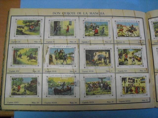 Cupones ONCE: album de cupones la hispalense 1934, por delantes son cromos y por detrás cupones, - Foto 22 - 103275655