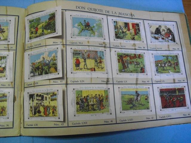 Cupones ONCE: album de cupones la hispalense 1934, por delantes son cromos y por detrás cupones, - Foto 23 - 103275655