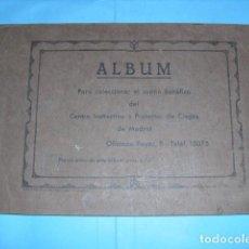 Cupones ONCE: ALBUM CENTRO INSTRUCTIVO Y PROTECTOR DE CIEGOS 1933, DE MADRID, TIENE 57 CUPONES. Lote 103309703