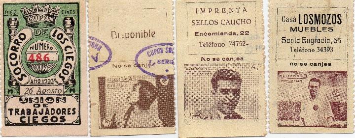 Cupones ONCE: album cupon de la union de trabajadores ciegos, 1933 de madrid - Foto 2 - 103313311