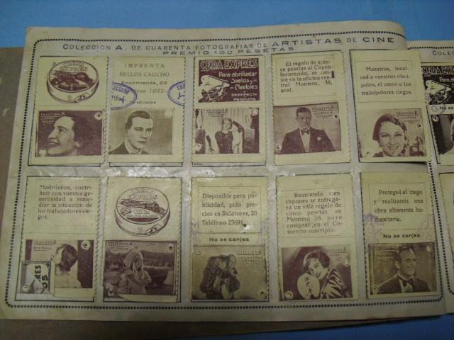 Cupones ONCE: album cupon de la union de trabajadores ciegos, 1933 de madrid - Foto 5 - 103313311