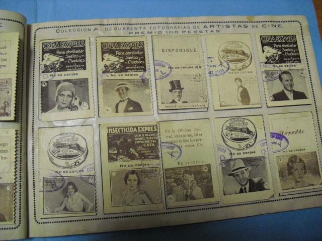 Cupones ONCE: album cupon de la union de trabajadores ciegos, 1933 de madrid - Foto 6 - 103313311