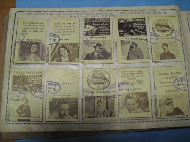 Cupones ONCE: album cupon de la union de trabajadores ciegos, 1933 de madrid - Foto 7 - 103313311